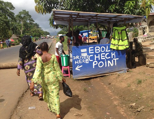 Ebola Check point | by Medici con l'Africa Cuamm