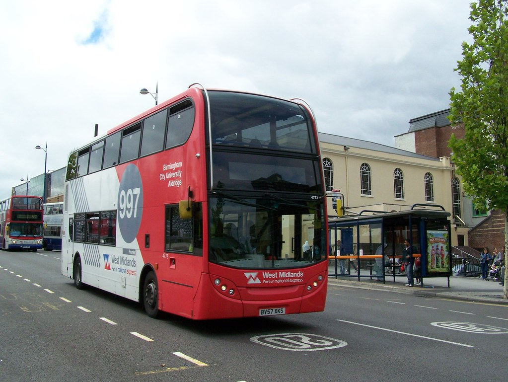 100729 130812 West Midlands Travel Limited 4772 Bv57xks By Bus Buster