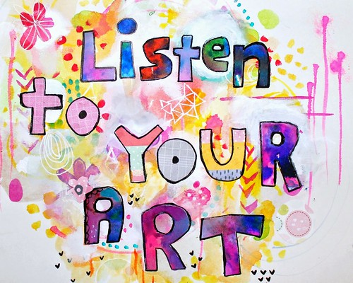 Listen to Your Art | by marciadotcom