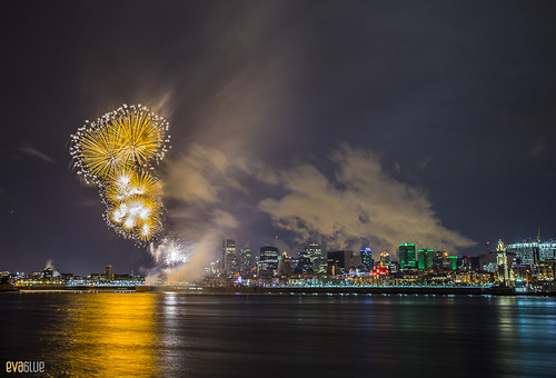 New Year's 2015 Montreal | by Eva Blue