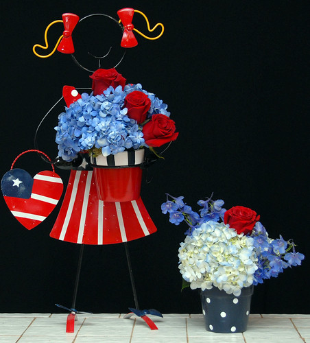 Fourth of July Flowers — Photo Courtesy The Rittners School of Floral Design, Boston | by Flower Factor