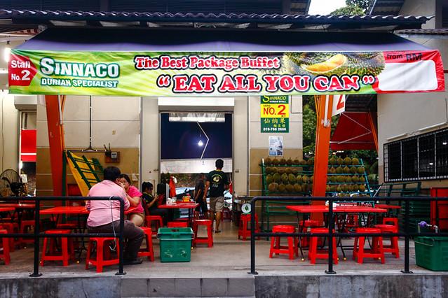Sinnaco Durian Specialist Durian Buffet Stall