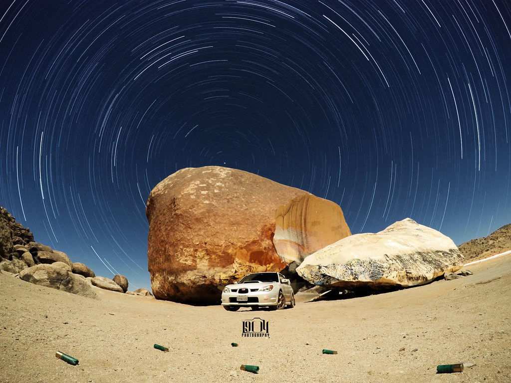 Giant Rock With The GoPro Hero4