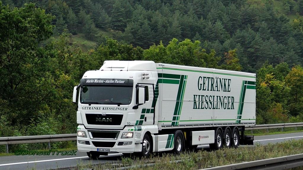 D - Getränke Kiesslinger MAN TGX 18.540 XLX | BonsaiTruck | Flickr