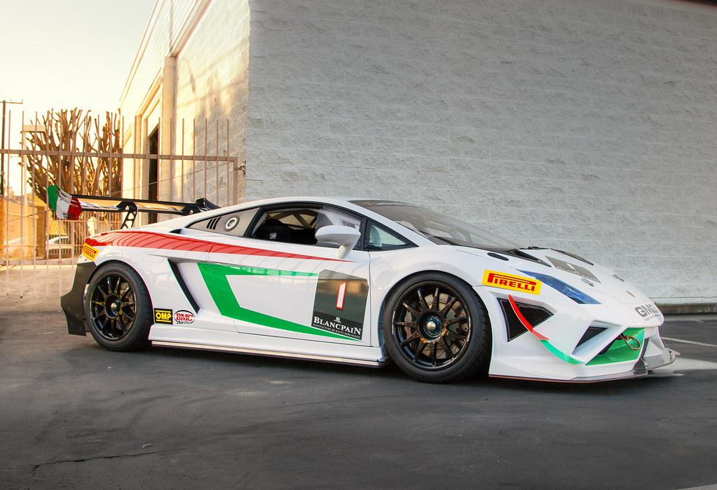 Lamborghini Gallardo Race Car Taken At Irvine Cars And Cof Flickr