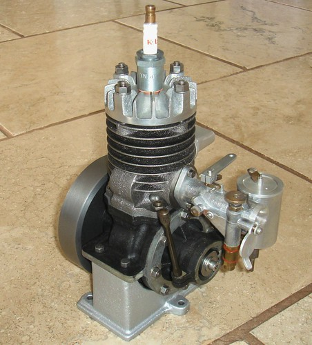 Stuart turner lightweight air cooled boat engine builder for Air cooled outboard motor kits