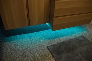 vloer met ledverlichting by rdb siergrindvloeren