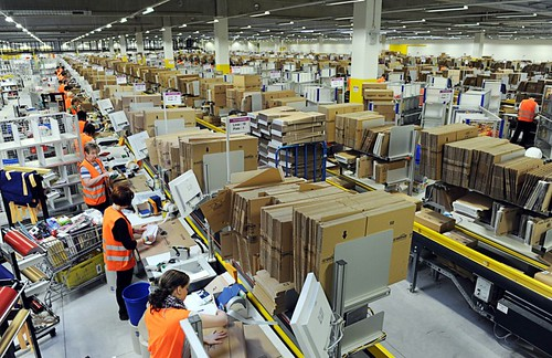 amazon warehouse | by hnnbz