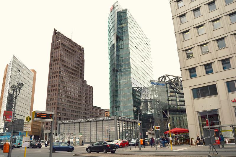 Potsdamer Platz Berlin 2016