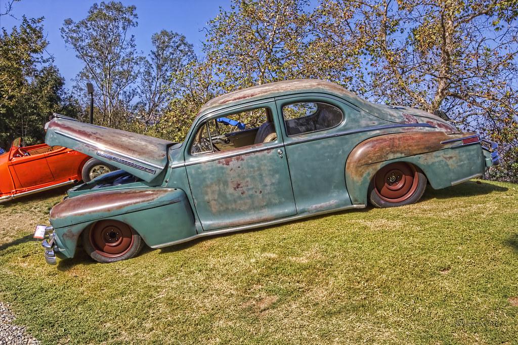 1946 Lincoln Club Coupe Icon Derelict Art Center Car Class Flickr
