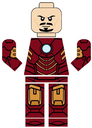 lego iron man mark 23 - photo #10