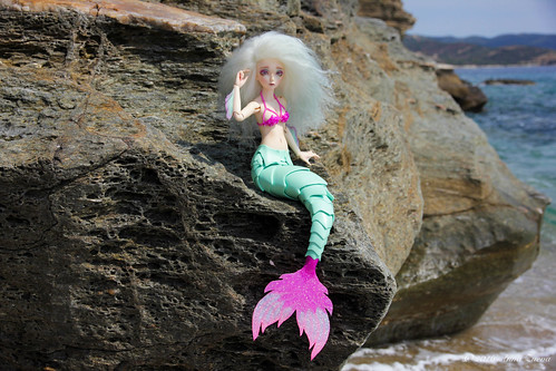 Mermaid tail and seashell bra for minifee/fairyline (MSD) | by AnnaZu