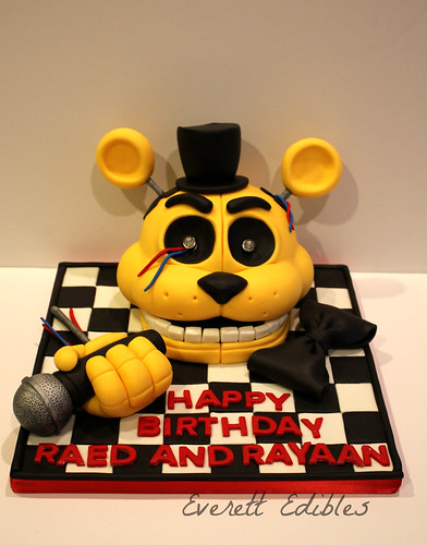Five Nights At Freddy S Cake Pan