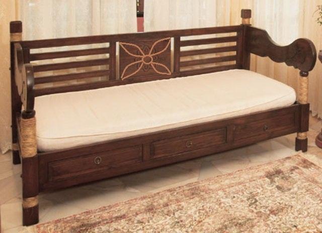 ... Tali Kawong Daybed Teak Wood Furniture Malaysia Indoor Furniture  Malaysia | By Teak Furniture