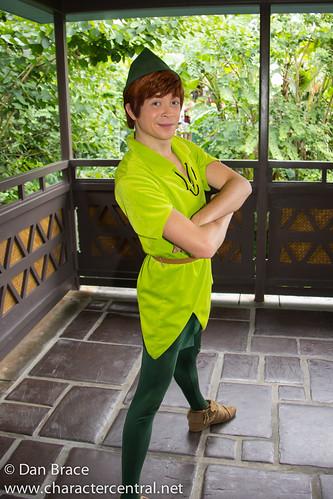 Meeting Peter Pan   Walt Disney World Resort in Florida ...