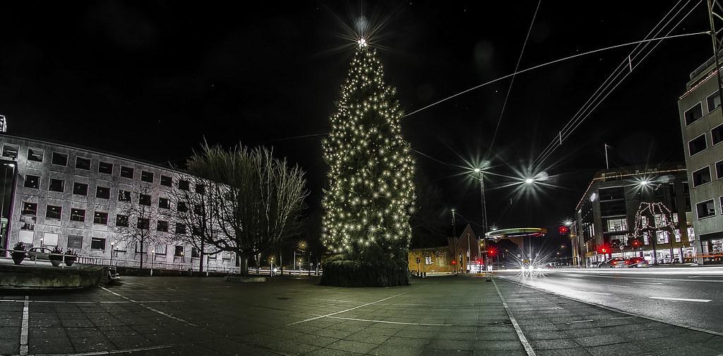juletræ i århus