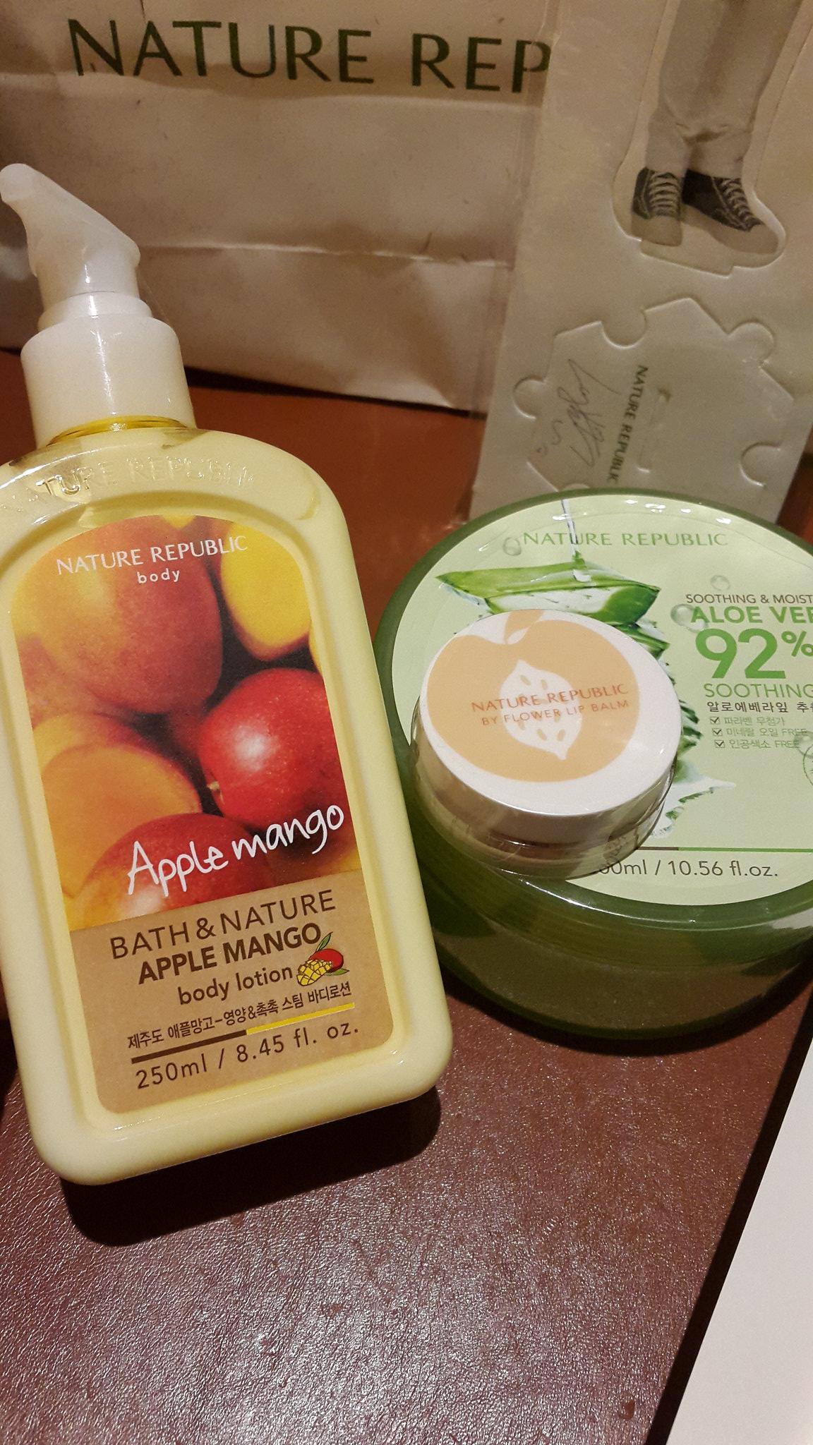 Yasminten Flickr Nature Republic Bath Body Lotion Apple Mango