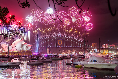 Happy New Year 2015 from Sydney | by Loïc Lagarde