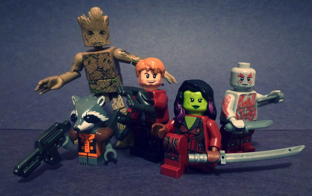 Lego Guardians of The Galaxy  I got the film on DVD today   Flickr