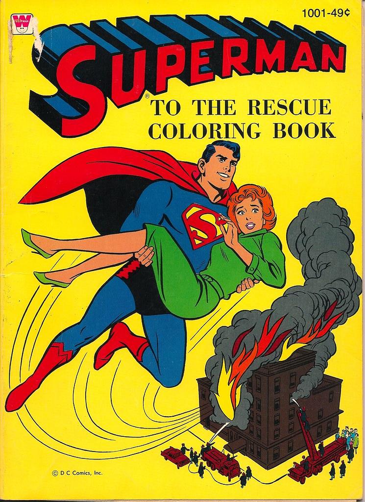 Superman Coloring Book (Whitman)   donald deveau   Flickr