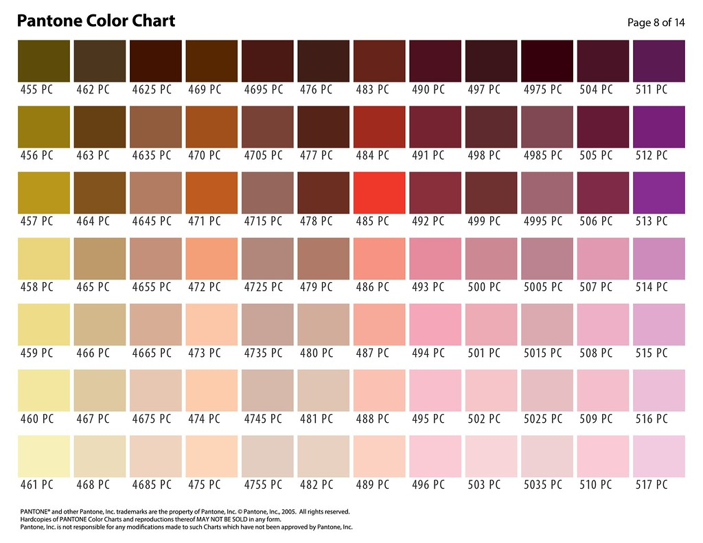 Pantone color selection chart page 8 color selection chart flickr pantone color selection chart page 8 by artnwalls nvjuhfo Images