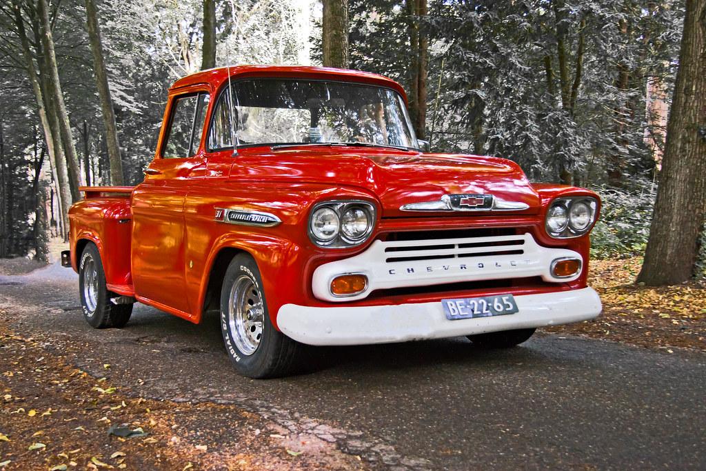 Chevrolet 3100 Apache Stepside 1958 3300 1958 Chevrolet Flickr