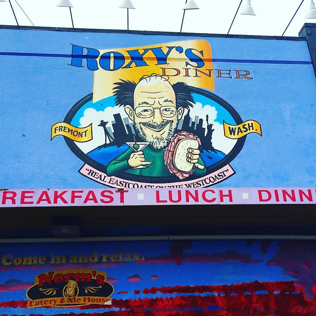 Roxy's Diner in Fremont is so goooood.