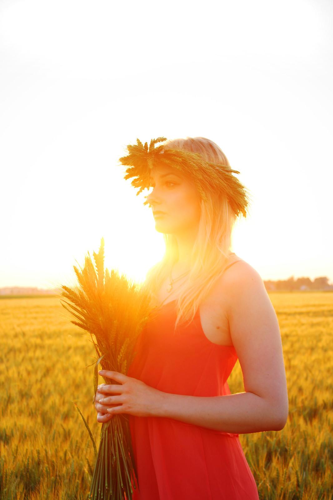 Golden hour photo shoot