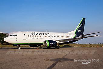 Albatros Airlines B737-500 (Ivan Peña Nesbit)