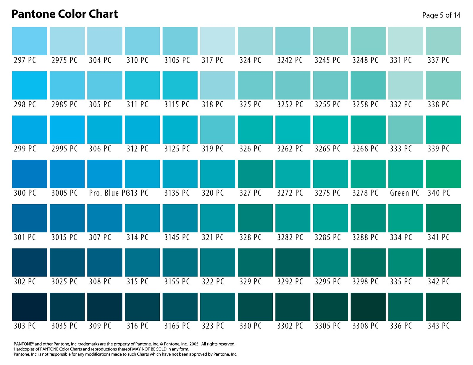 Color selection chart flickr nvjuhfo Image collections