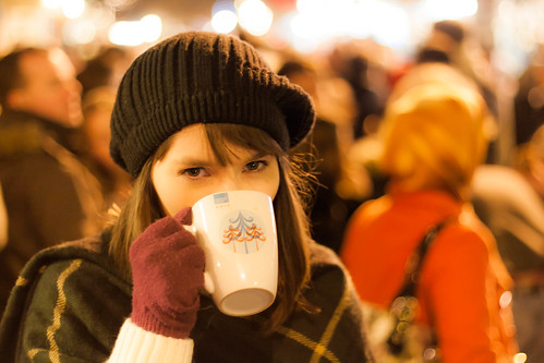 An Irish Girl at the Christmas Market | by Mike Kniec