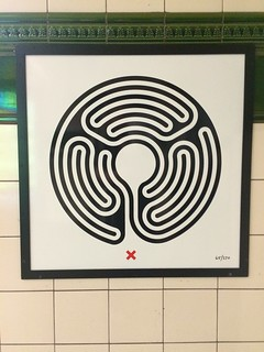 65/270 Lambeth North Labyrinth - Original | by fawst66