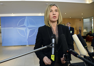 Federica Mogherini at NATO | by European External Action Service - EEAS