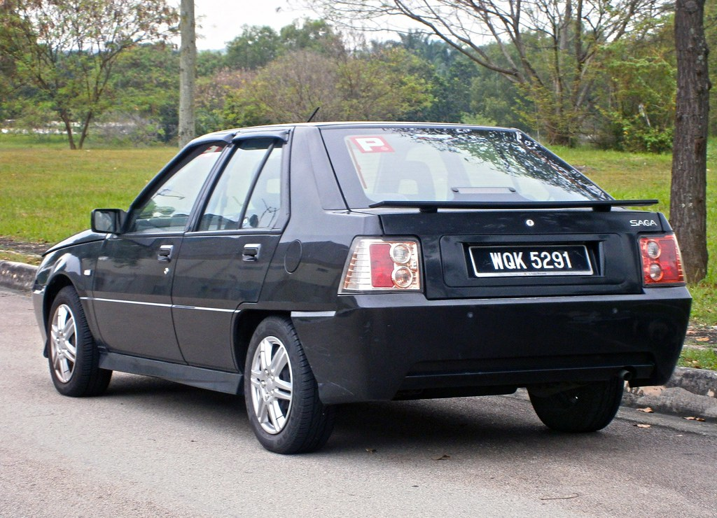 2007 Proton Saga Lmst My First Car 2014 01 16 All The R Flickr