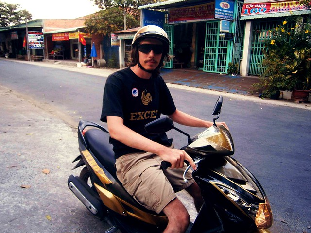 Riding Back From Cu Chi