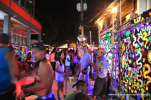 Checking the Streets at Koh Phangan during Full Moon Party
