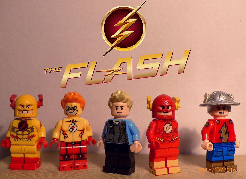 ... The Lego Flash Family | By TBurstCustoms