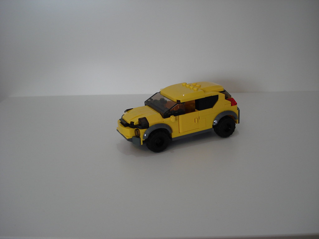 Nissan Juke Moc Lego Vehicles 6 Wide Minifig Scale B Flickr