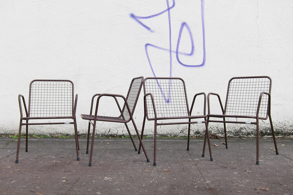 ... BKS Denmark Wire Patio Chairs | By Sheep Chase Vintage