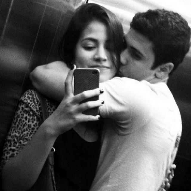 Gf bf kiss photo