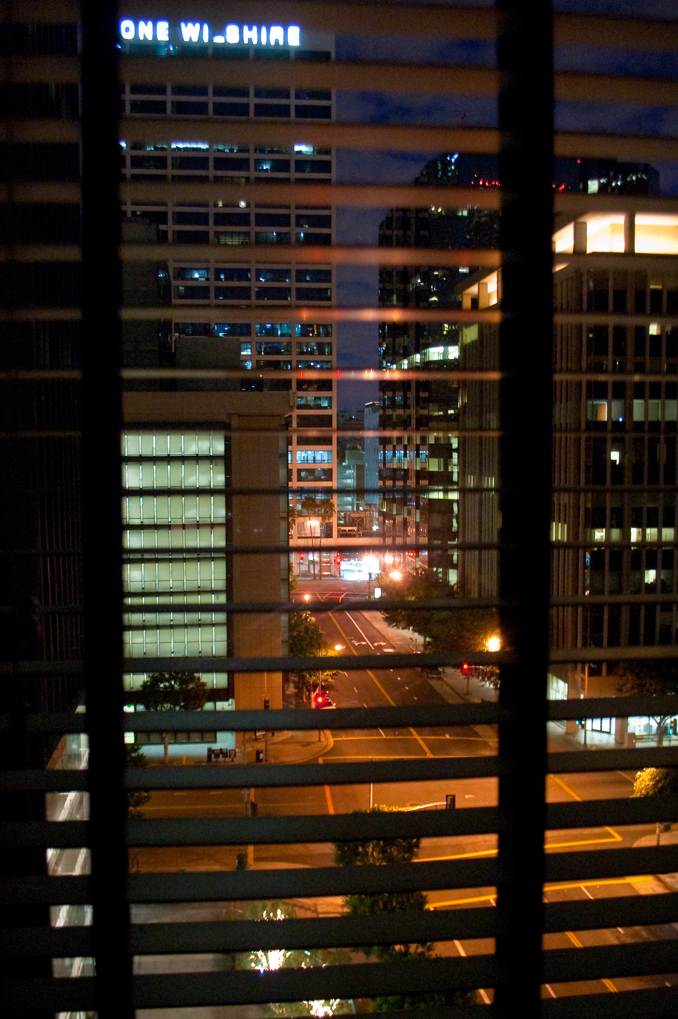 Office Window View Night : Thomas haire flickr