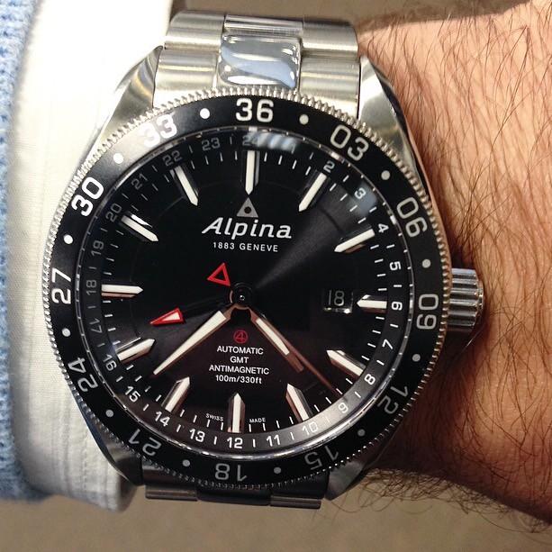 Alpina Watches Alpiner GMT Ref ALGAQB Wwwalpina Flickr - Alpina gmt