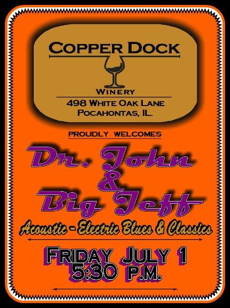 Dr John, Big Jeff 7-1-16