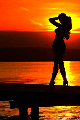 That's what I'll be. A silhouette, rarely seen, and yet believed in ~ Juliet