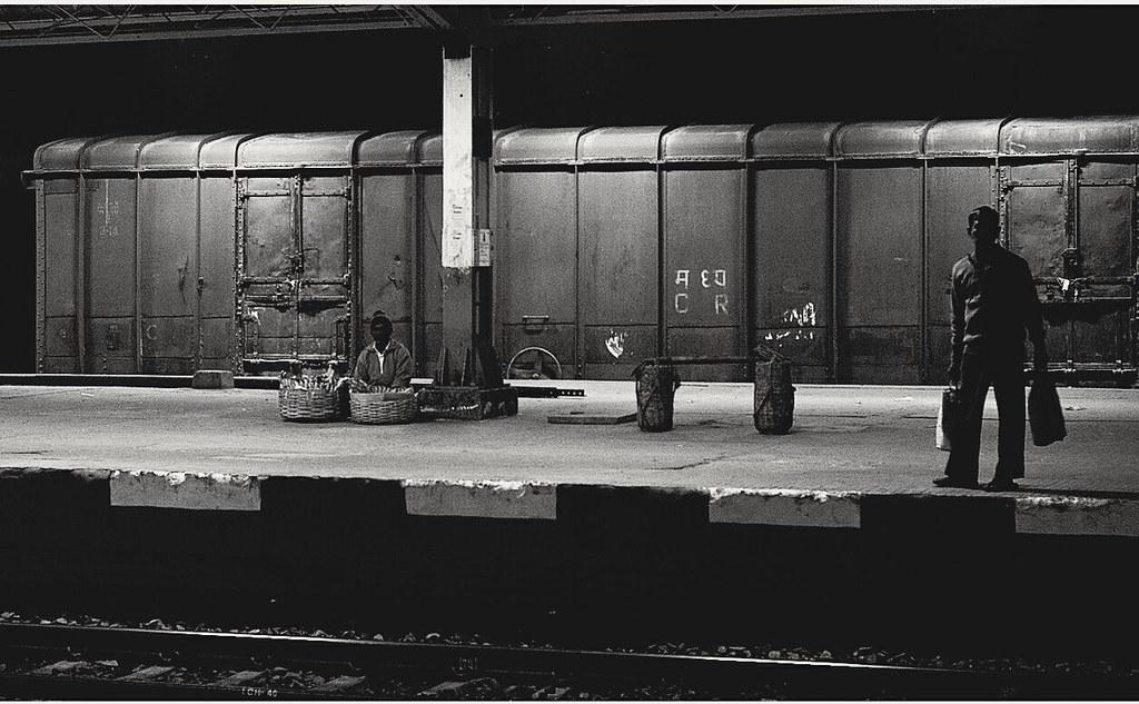 A Night Frame : Stage , A Railway Platform | At a railway pl… | Flickr