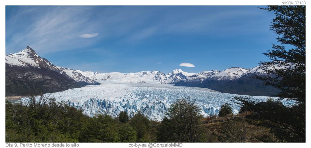 Día 9. Perito Moreno desde lo alto