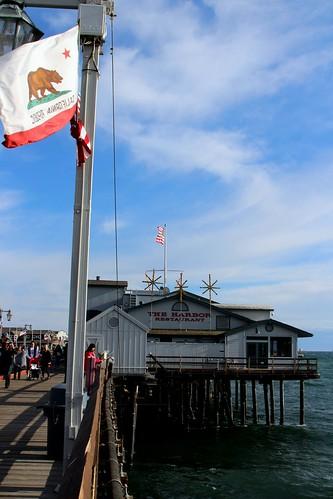 The Harbor Restaurant  Stearns Wharf Santa Barbara Ca