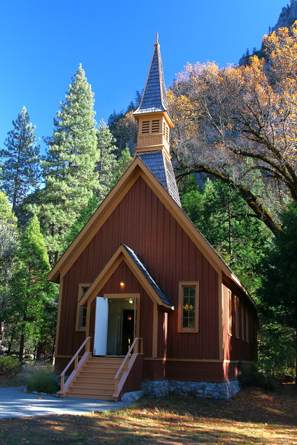 IMG_5119 Yosemite Chapel, Yosemite National Park