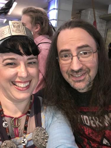 Selfie with Jim Butcher!