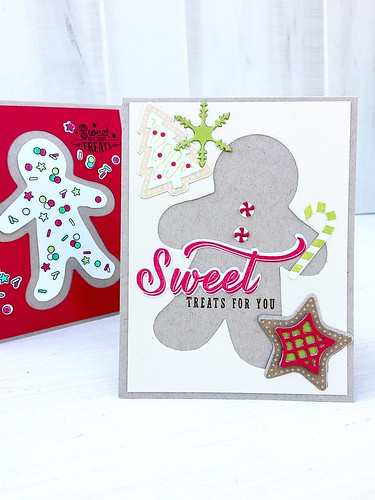Stitched Gingerbread Basics and Sweet Holiday Treats by Papertrey Ink